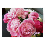 BD- Peony Floral Thank you card