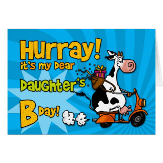 bd scooter cow - daughter card