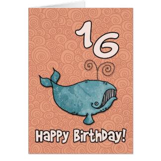 bd whale - 16 card
