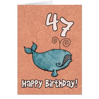 bd whale - 47 card