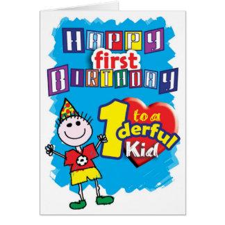 B'day - Babys 1st Card