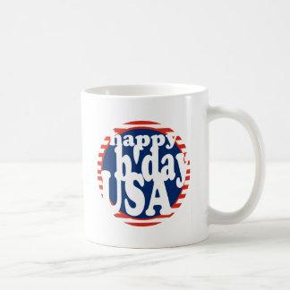 B'day feliz los E.E.U.U. Tazas De Café