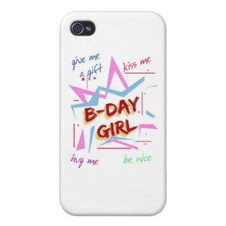bday girl iPhone 4 cover