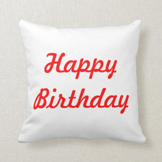 bday pillow