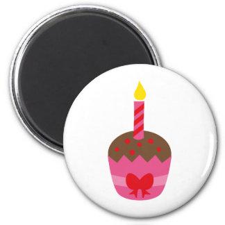 BdayGirl1 2 Inch Round Magnet