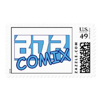 BDR Comix Logo Postage