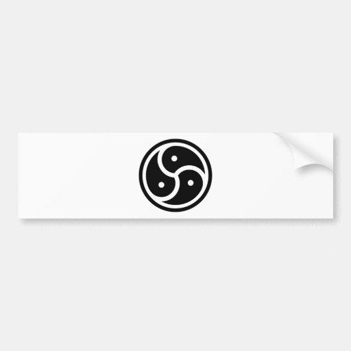 BDS&M symbol Bumper Sticker