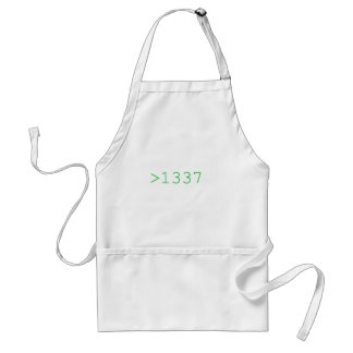 Be 1337 adult apron
