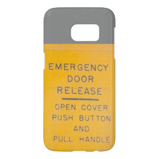 BE-18 Emergency Door Release Design Samsung Galaxy S7 Case