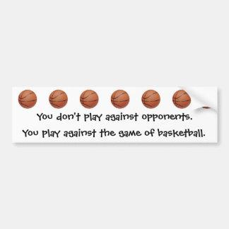 Be A Baller Bumper Sticker