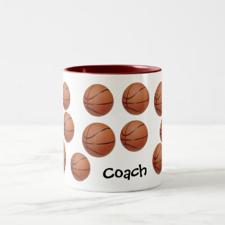 Be A Baller Two-Tone Coffee Mug