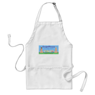 Be A Barefoot Mommy Adult Apron