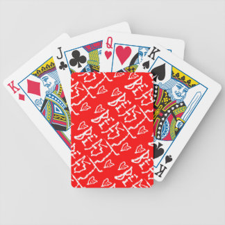 Be a Beast Bicycle Playing Cards