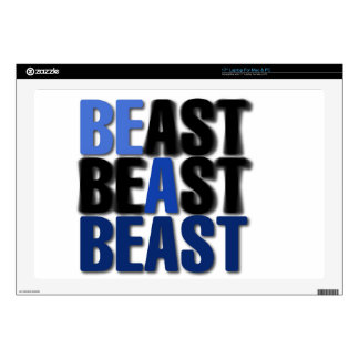 Be A Beast Decals For Laptops