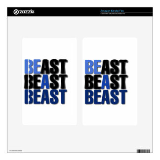 Be A Beast Skins For Kindle Fire
