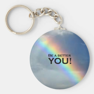 Be a Better YOU! Keychain