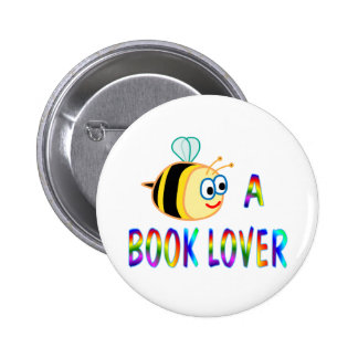 Be a Book Lover Button