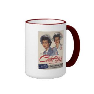 Be a Cadet Nurse Ringer Mug