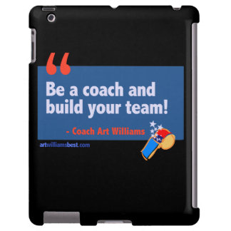 Be a Coach! iPad case