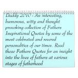 """Be A Father"" Calendar"