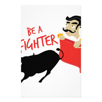 Be A Fighter Stationery