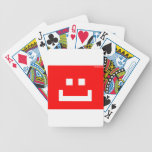 be a happy drone bicycle playing cards