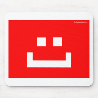 be a happy drone mouse pad