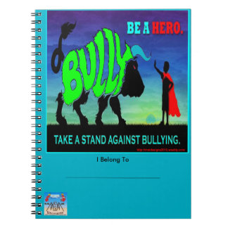 Be a Hero Notebook