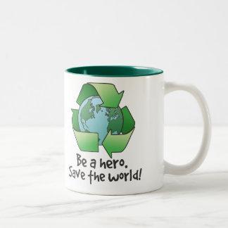 Be A Hero, Recycle Mug