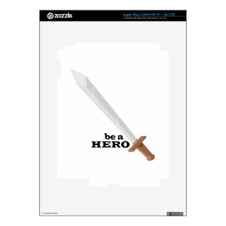 Be A Hero Decal For iPad 3