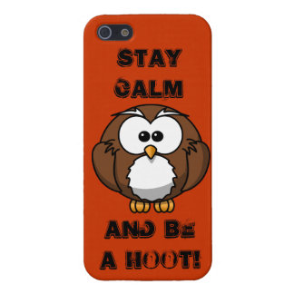 BE A Hoot iPhone SE/5/5s Cover