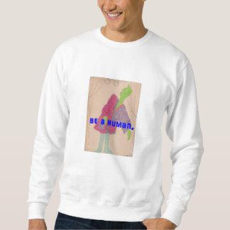 BE A HUMAN - long-sleeve jersey shirt 2