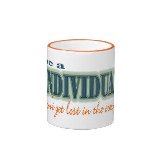 Be a individual ringer mug