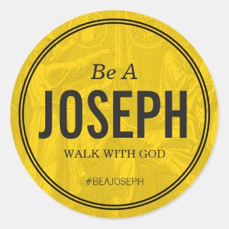 Be A Joseph Custom 3 inch Sticker