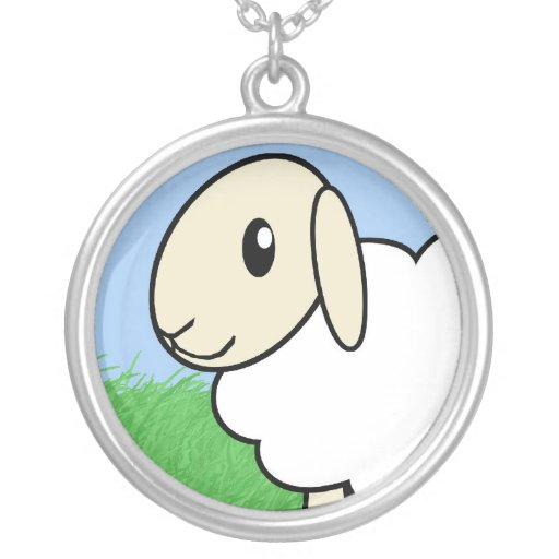 """""""Be a Lamb"""" Necklace"""