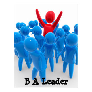 Be A Leader Postcard