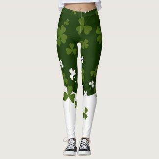 Be a Leprechaun for a Day Leggings
