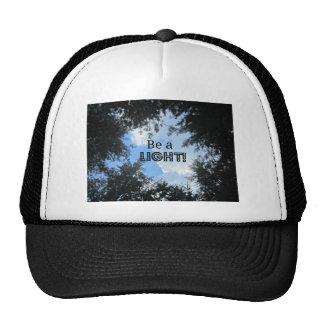 Be a light! mesh hat