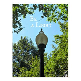 Be a Light! Postcard