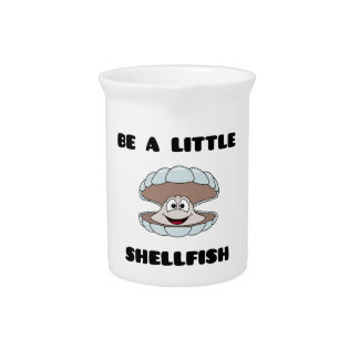Be a little shellfish scallop drink pitcher