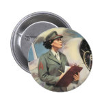 Be a Marine - Free a Marine to Fight Pinback Buttons