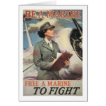Be a Marine - Free a Marine to Fight Card