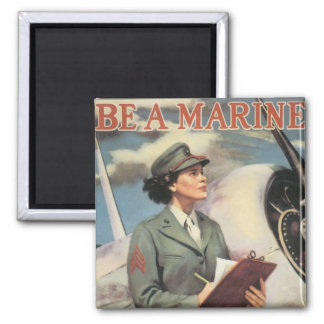 Be a Marine - Free a Marine to Fight Magnet
