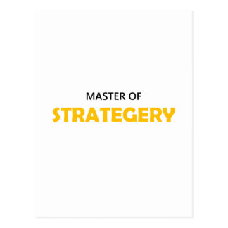 Be A Master of Strategery 1OB Postcard