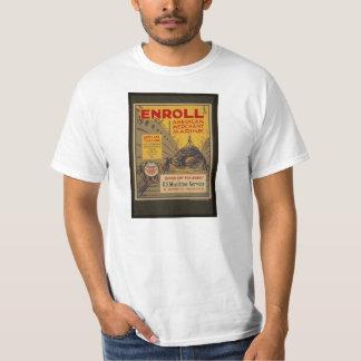 Be a Merchant Marine, Vintage WWII War Effort T T-Shirt