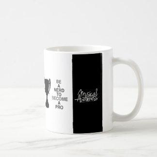BE A nerd ton become A per - Mug