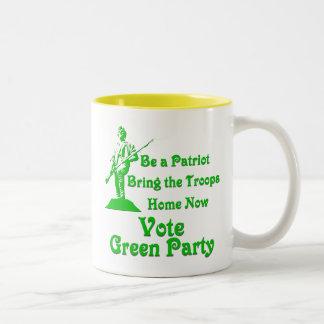 Be a Patriot Two-Tone Coffee Mug