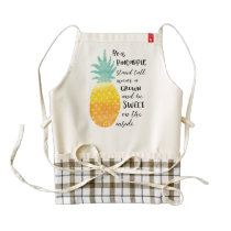 Be a Pineapple Zazzle HEART Apron