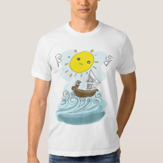 BE A PIRATE T SHIRT
