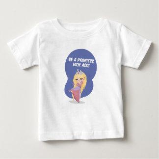 Be a princess, kick ass! - Baby Jersey Shirt